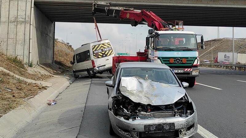 Kuzey Marmara Otoyolu'nda trafik kazası