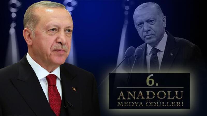 """Cumhurbaşkanı Erdoğan, """"6. Anadolu Medya Ödülleri"""" programında açıklamalarda bulundu"""