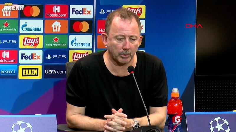 """Sergen Yalçın'dan Dortmund maçı sonrası grup yorumu! """"Her şey olabilir"""""""