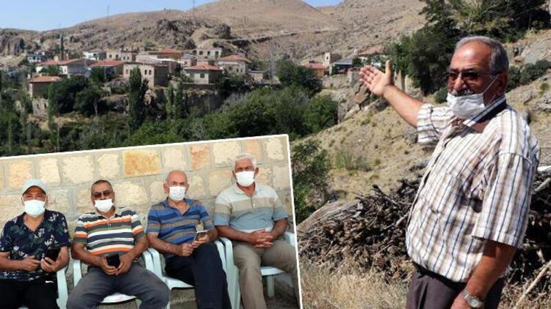 75 haneli mahallede koronavirüse yakalanan olmadı
