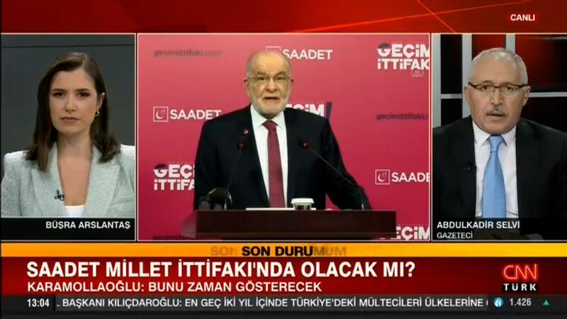 Karamollaoğlu'nun 'Millet İttifakı' açıklaması!