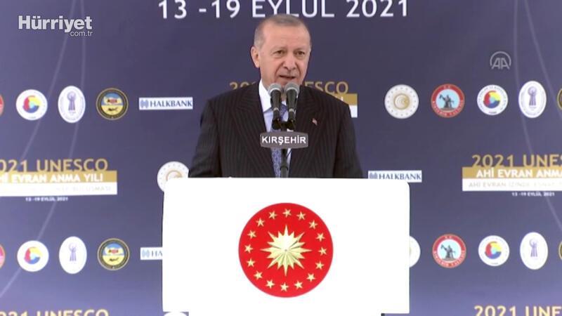 Cumhurbaşkanı Erdoğan'dan enflasyon mesajı!