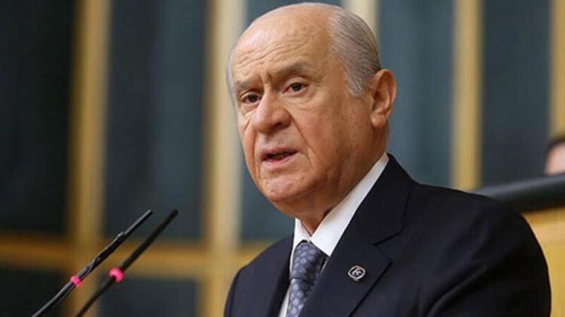 MHP Genel Başkanı Devlet Bahçeli, açıklamalarda bulundu