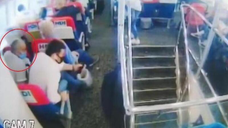 Deniz otobüsünde taciz! Tutuklandı