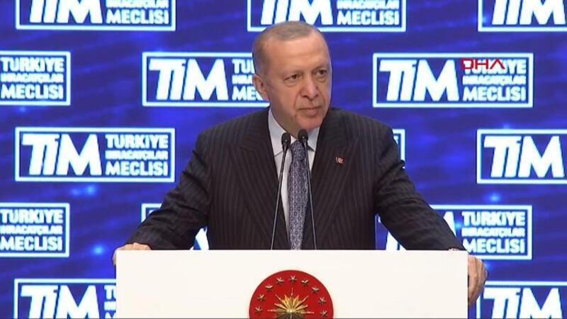 Cumhurbaşkanı Erdoğan'dan ihracatçılara müjde: Yeni bir mekanizma kuruyoruz