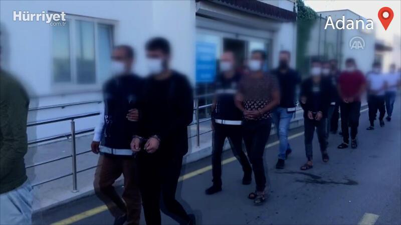 Adana'da göçmen kaçakçılığı operasyonunda yakalanan 4 şüpheli tutuklandı