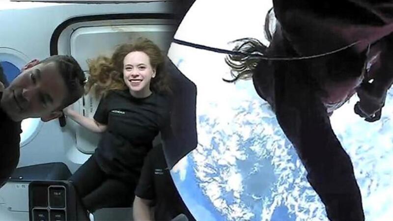 Uzay turistleri dünyaya döndü
