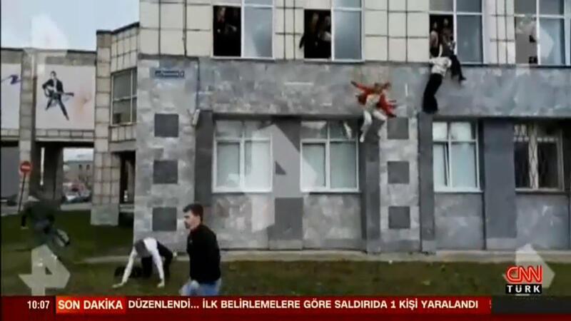 Rusya'da üniversiteye saldırı