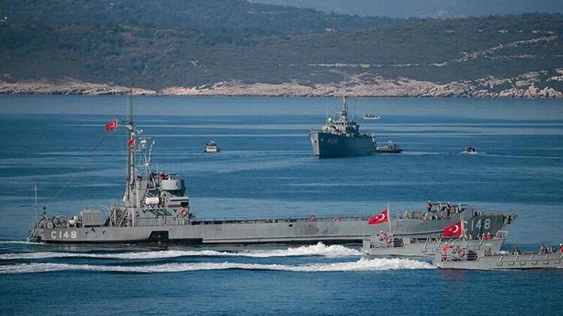 Türkiye'den Yunanistan'a Navtex mesajı