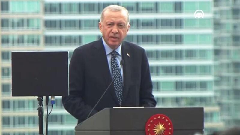 Cumhurbaşkanı Erdoğan, New York, Yeni Türkevi Binası'nın açılış töreninde açıklamalarda bulundu