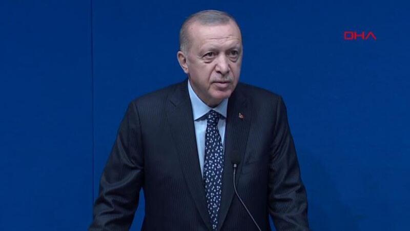 Cumhurbaşkanı Erdoğan, Yeni Türkevi Binası'nda TURKEN Vakfı heyetini kabulünde açıklama yaptı