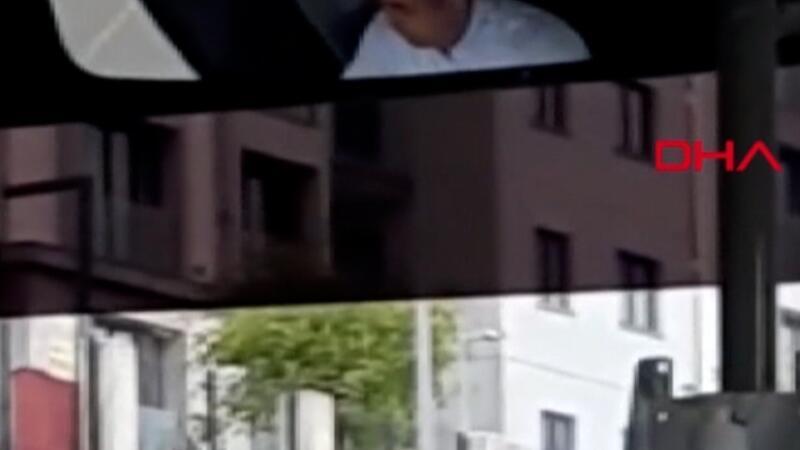 Maske takmayan halk otobüsü sürücüsü, kendisini uyaran yolcuyla tartıştı