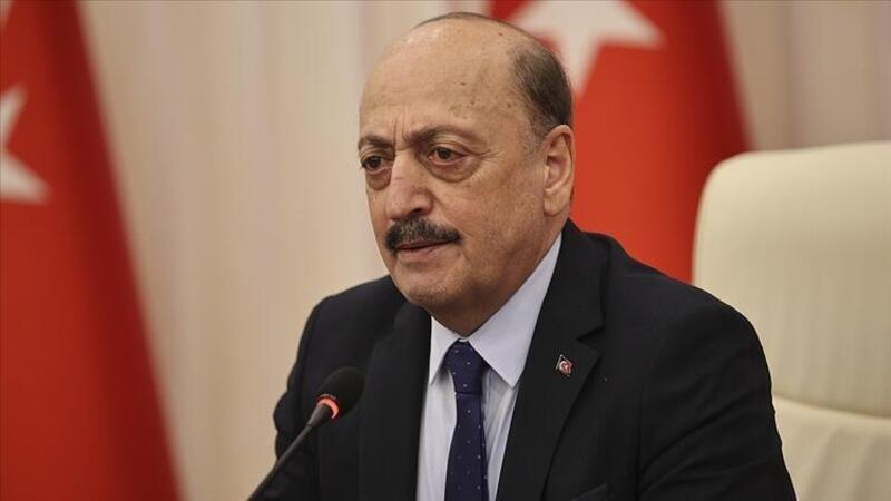 Çalışma ve Sosyal Güvenlik Bakanı Vedat Bilgin, açıklamalarda bulundu