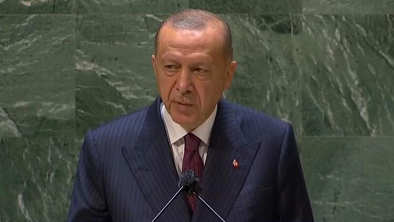 Cumhurbaşkanı Erdoğan, Birleşmiş Milletler Genel Kurulu'nda önemli açıklamalarda bulundu