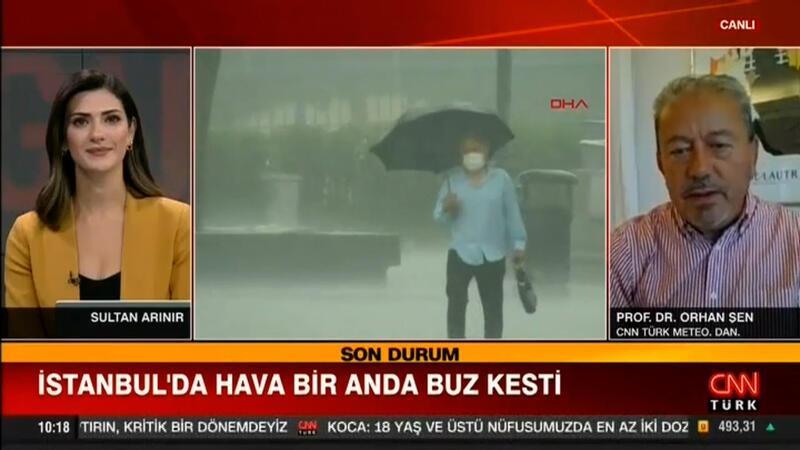 İstanbul'da hava bir anda soğudu