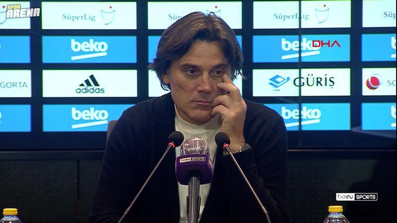Vincenzo Montella: Skorun 3-3 olacağına inanmıştım