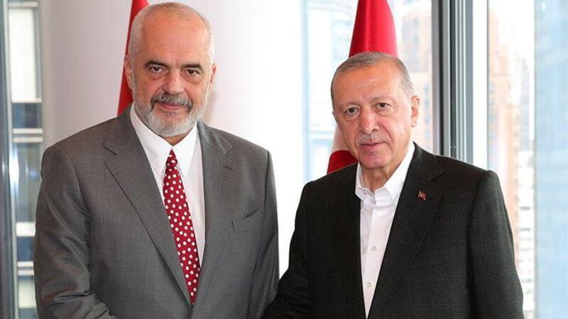 Cumhurbaşkanı Erdoğan, Arnavutluk Başbakanı Edi Rama'yı kabul etti