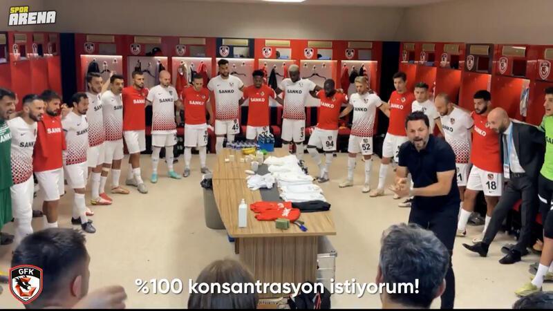 Muhammet Demir'in lig tarihine geçen golü öncesi Erol Bulut'un soyunma odası konuşması...
