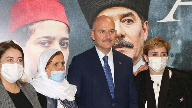 """İçişleri Bakanı Soylu, """"Akif"""" filminin Şırnak'taki galasında konuştu"""