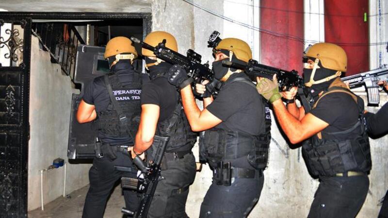 Terör örgütü DEAŞ'ın Yamaçlı grubuna operasyon