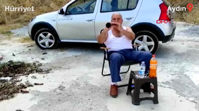 Eşi ceza verdi, 40 gün zurnasını dağda çalacak