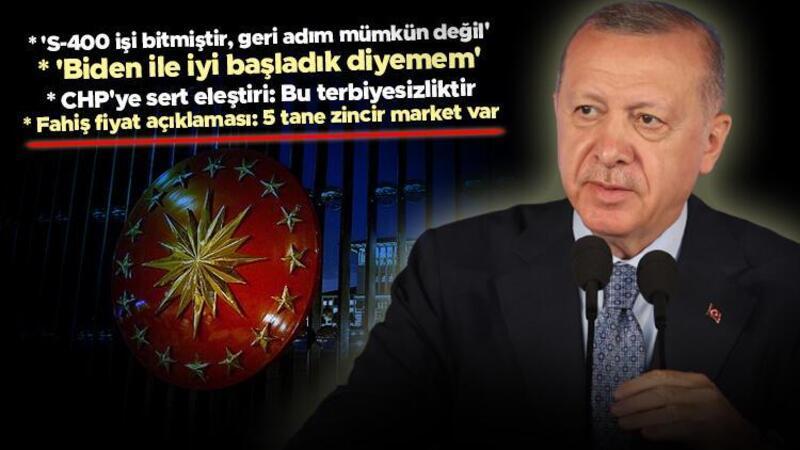 Cumhurbaşkanı Erdoğan, New York'taki Türkevi'nde gazetecilerle söyleşi gerçekleştirdi.