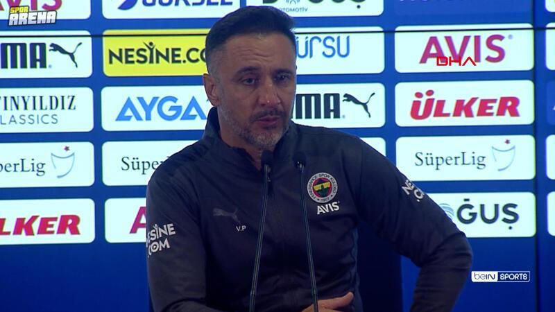 Fenerbahçe-GZT Giresunspor maçının ardından Fenerbahçe Teknik Direktörü Vitor Pereira açıklamaları