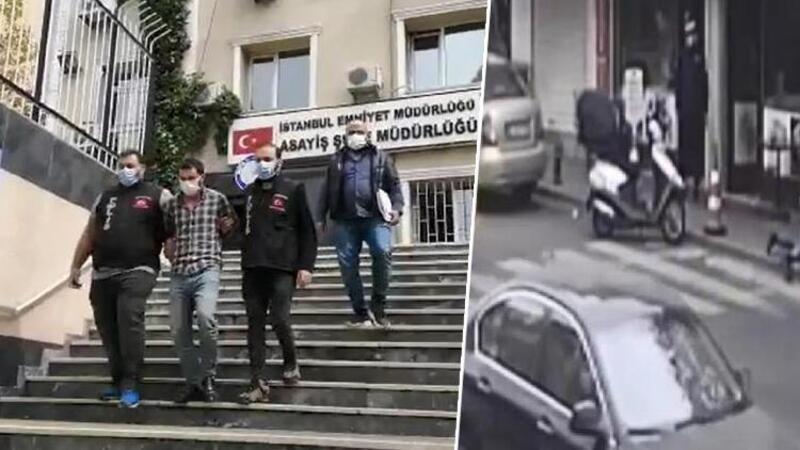 Zeytinburnu'nda 'yan baktın' cinayeti; şüpheli böyle yakalandı