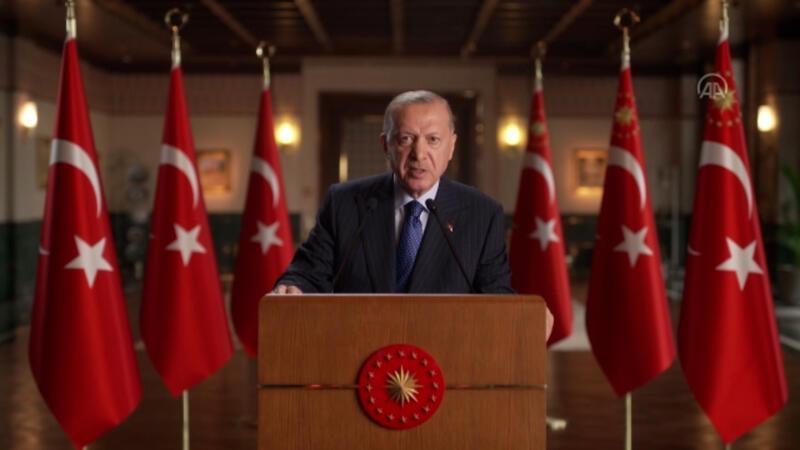 """Cumhurbaşkanı Erdoğan, """"Birleşmiş Milletler Yüksek Düzeyli Enerji Diyaloğu Toplantısı""""na bir video mesaj gönderdi"""