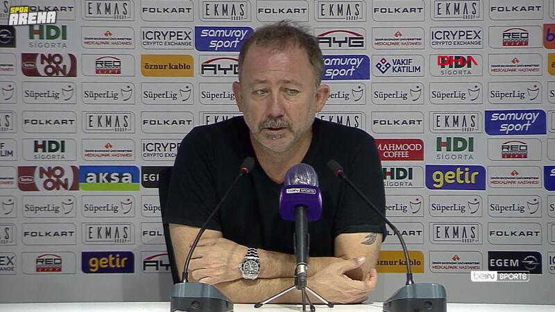 Beşiktaş Teknik Direktörü Sergen Yalçın, Altay'a 2-1 mağlup oldukları maçın ardından konuştu