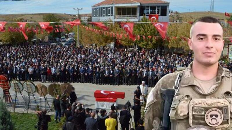 Şehit Piyade Uzman Çavuş Faruk Eser, Aksaray'da son yolculuğuna uğurlandı