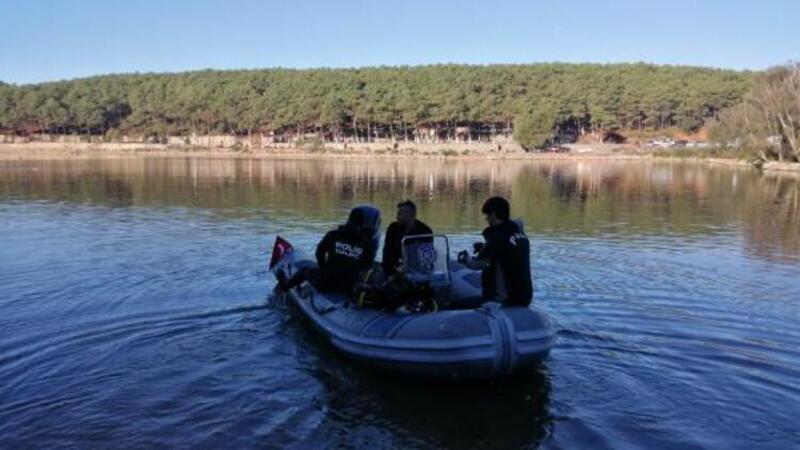 Sancaktepe'de gölette kaybolan Hüseyin Eriş'i arama çalışmaları tekrar başladı