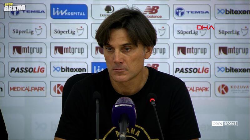 Vincenzo Montella: Sonuç için çok mutluyum