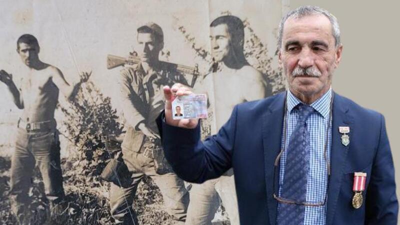43 yıl sonra 'gazi' sayıldı