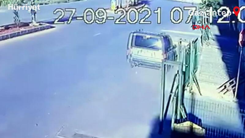 Bekir'in işe giderken öldüğü kaza kamerada