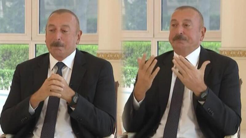 Aliyev anlatırken gözleri doldu: 'Budur Azerbaycan, budur Azerbaycan halkı'
