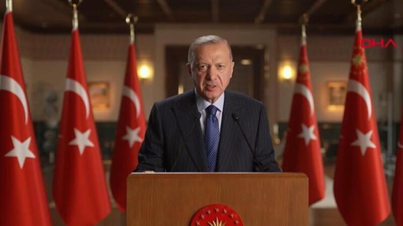 Cumhurbaşkanı Erdoğan, 'Küresel Kovid-19 Zirvesi'ne video mesaj gönderdi