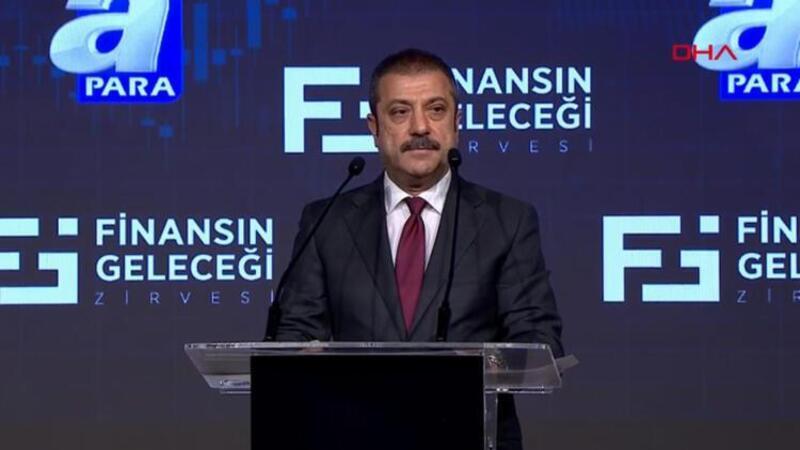 Merkez Bankası Başkanı Kavcıoğlu, Finansın Geleceği Zirvesi'nde açıklamalarda bulundu