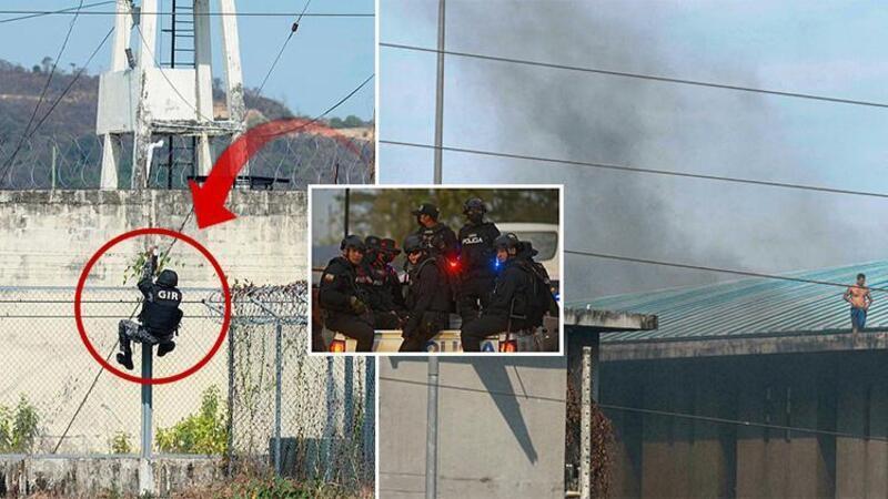 Ekvador'da cezaevinde çatışma! Ölenlerin sayısı 100'ü aştı