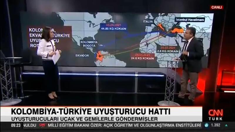 Kolombiya-Türkiye uyuşturucu ağı