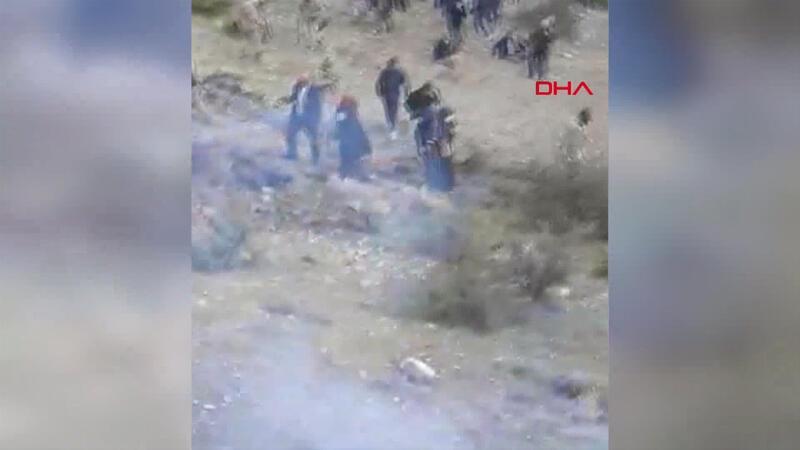 Köyde su tartışması arbedesinde jandarma  gazla müdahale etti
