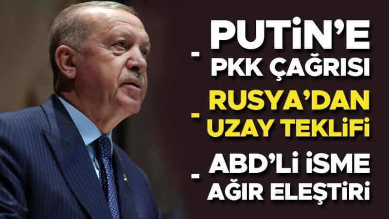 Cumhurbaşkanı Erdoğan Rusya dönüşü uçakta açıklamalarda bulundu