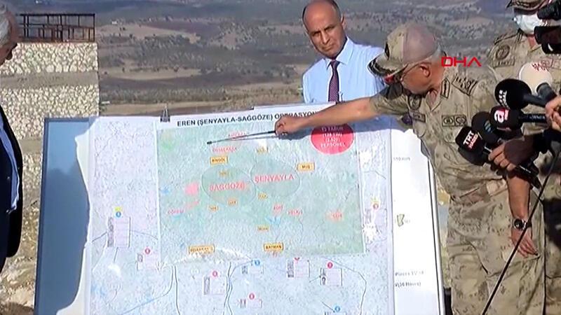 İçişleri Bakan Yardımcısı Ersoy ve Jandarma Genel Komutanı Orgeneral Çetin, operasyonla ilgili bilgi verdi