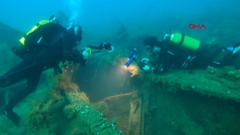 'Gelibolu Tarihi Sualtı Parkı' dalış turizmine açıldı