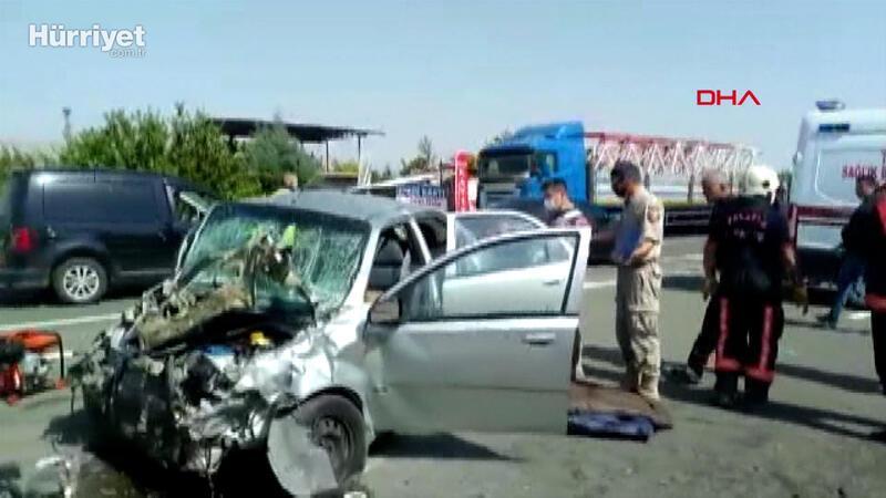 Malatya'da zincirleme kaza: 3 ölü, 4 yaralı