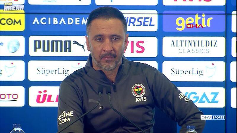Vitor Pereira: Zorlandık ama bugün bizim için önemli olan 3 puandı