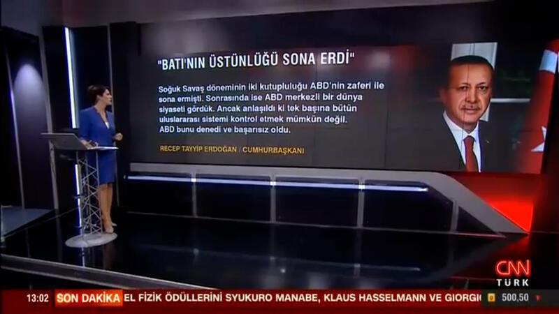 Cumhurbaşkanı Erdoğan: 'Batı'nın üstünlüğü sona erdi