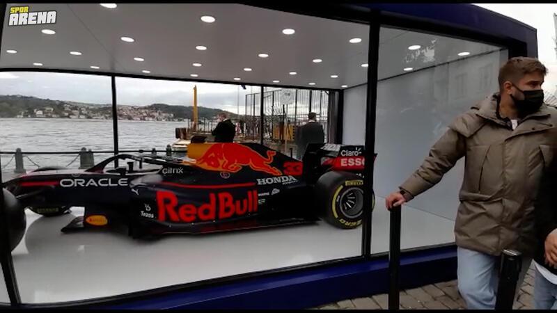 RedBull Racers standı Ortaköy'de