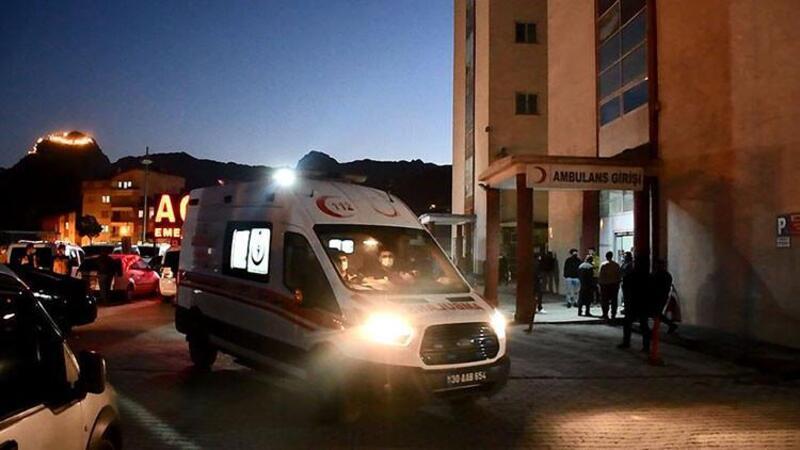 Hakkari'de, maden ocağında meydana gelen göçükte 2 işçi hayatını kaybetti