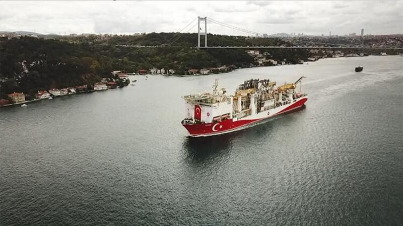 Yavuz Sondaj Gemisi Karadeniz'e açıldı